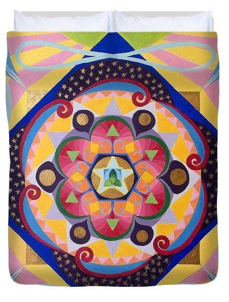 Star Mandala Duvet Cover