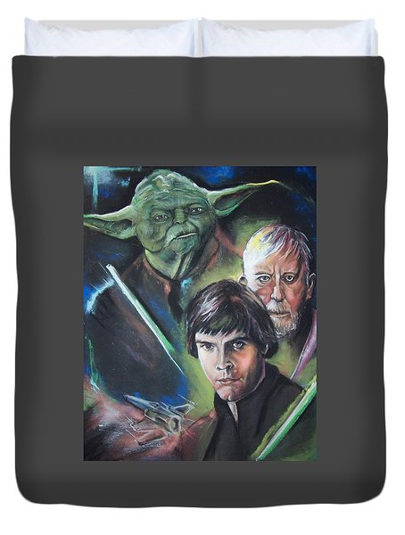 Star Wars Medley Duvet Cover by Peter Suhocke