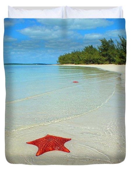 Starfish 5 Of Bottom Harbour Sound Duvet Cover