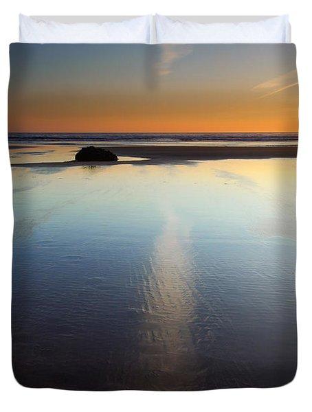 Starfish Sunset Duvet Cover
