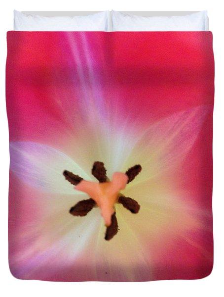 Starfish Tulip Duvet Cover