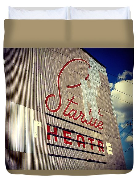 Starlite  Duvet Cover by Trish Mistric
