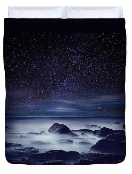 Starry Night Duvet Cover by Jorge Maia
