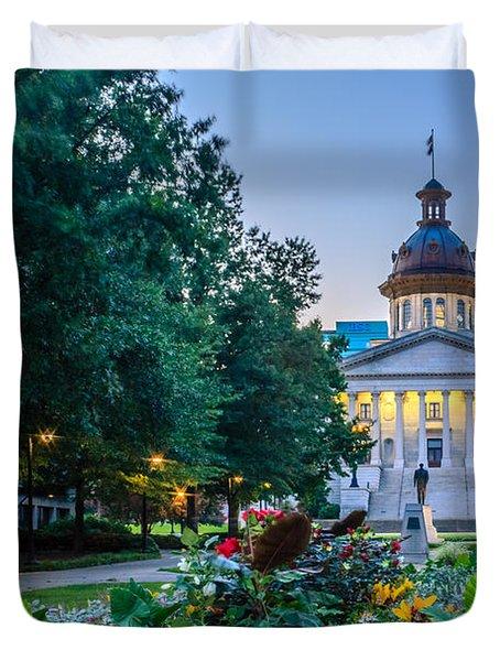 State House Garden Duvet Cover