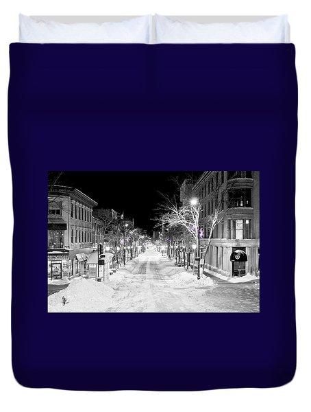 State Street Madison Duvet Cover