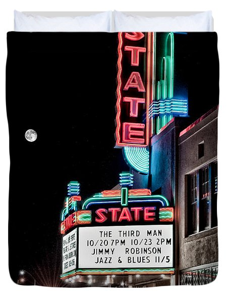 State Theater Duvet Cover