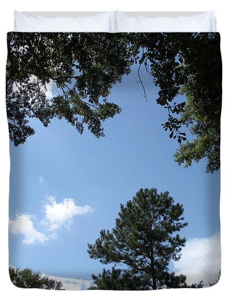 Stately Forest  Duvet Cover