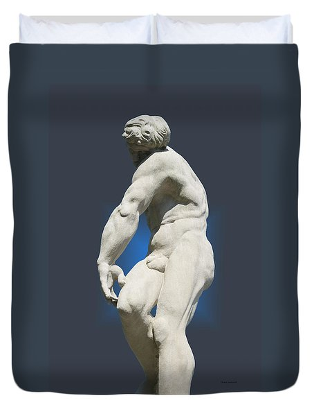 Statue 10 Duvet Cover by Thomas Woolworth