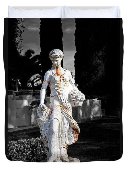 Statue Duvet Cover