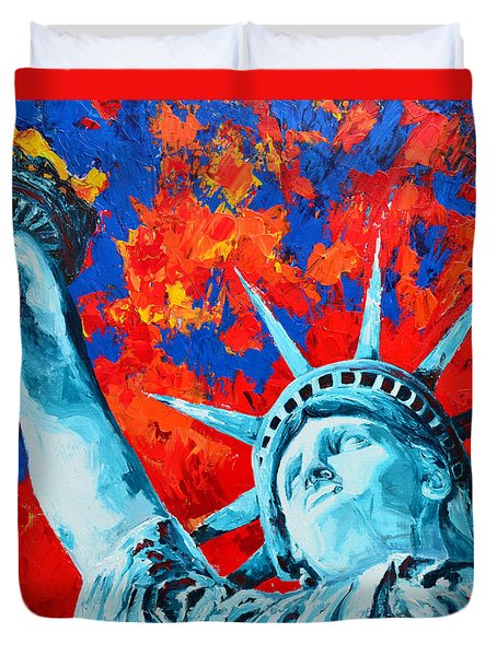 Statue Of Liberty - Lady Liberty Duvet Cover