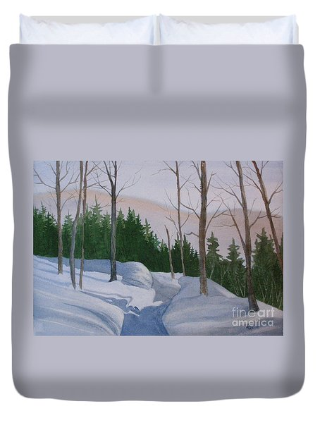 Stay On The Path Duvet Cover
