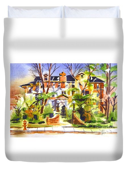 Ste Marys Of The Ozarks Hospital Duvet Cover