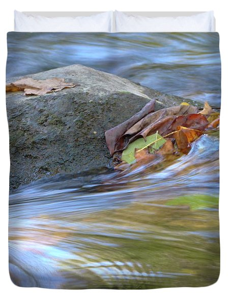 Duvet Cover featuring the photograph Steadfast by Jane Ford