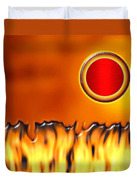 Steady Burn Duvet Cover