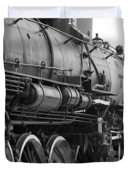 Steam Locomotive 1519 - Bw 02 Duvet Cover