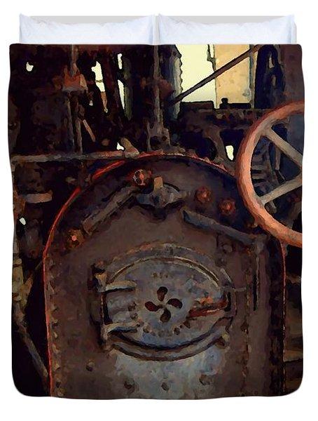 Steam Power Duvet Cover