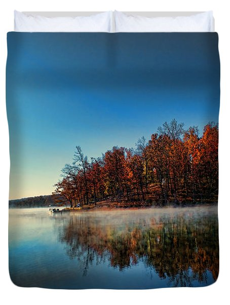 Steaming Reflection Duvet Cover