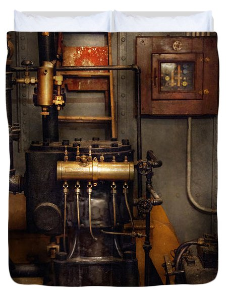 Steam Ship Engine Room: Back In The Engine Room Photograph By Mike Savad