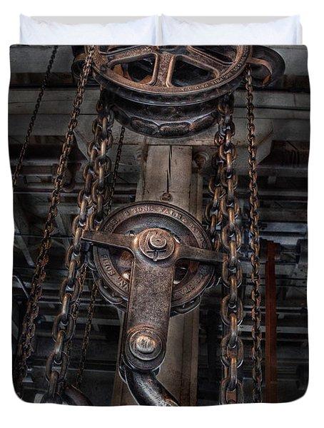 Steampunk - Industrial Strength Duvet Cover