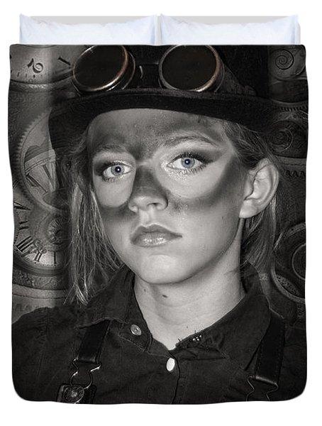 Steampunk Princess Duvet Cover