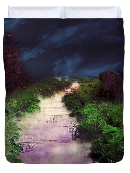 Steamy Creek Duvet Cover