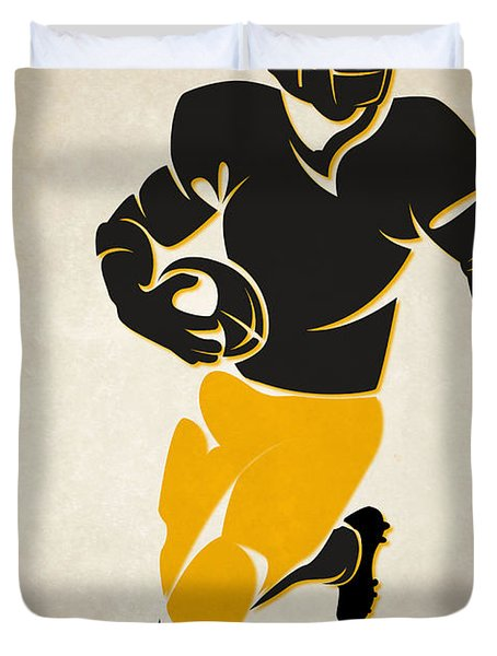 Steelers Shadow Player Duvet Cover