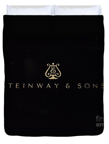 Steinway And Sons Duvet Cover