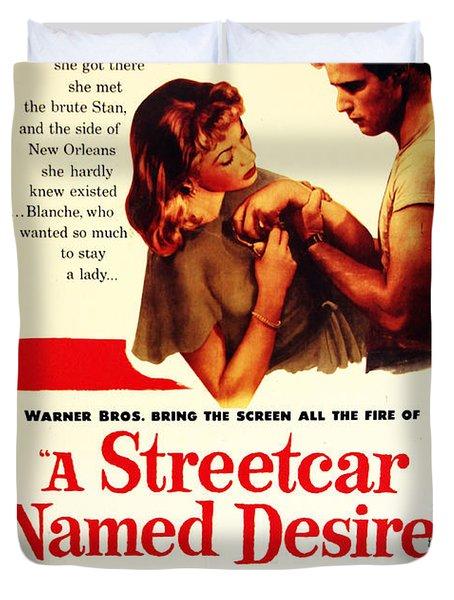 Stellaaaaa - A Streetcar Named Desire Duvet Cover
