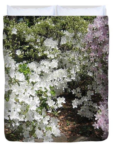 Step Into Spring Duvet Cover