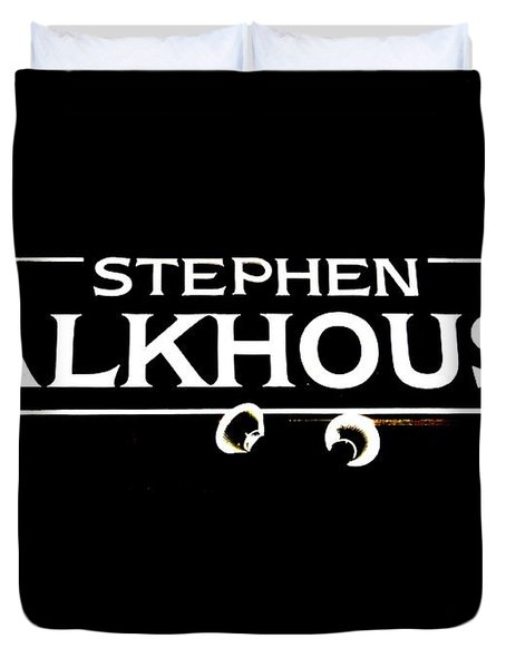 Stephen Talkhouse Duvet Cover