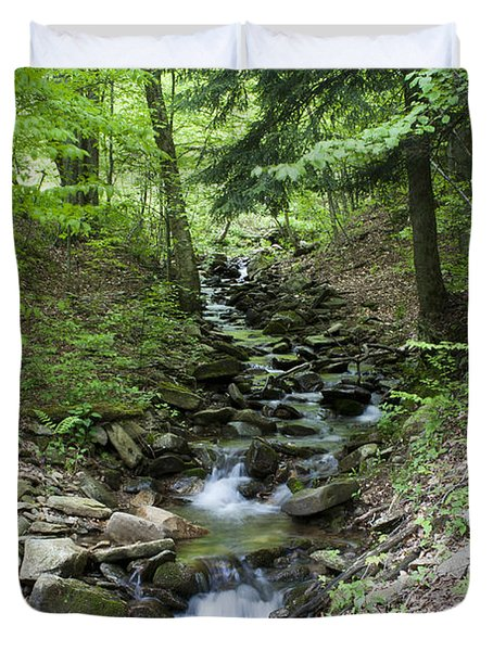 Stepped Water Fall Duvet Cover