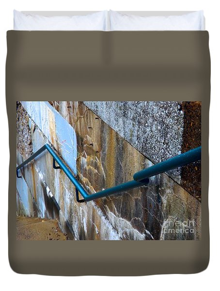Stepping Outside The Lines Duvet Cover by Robyn King