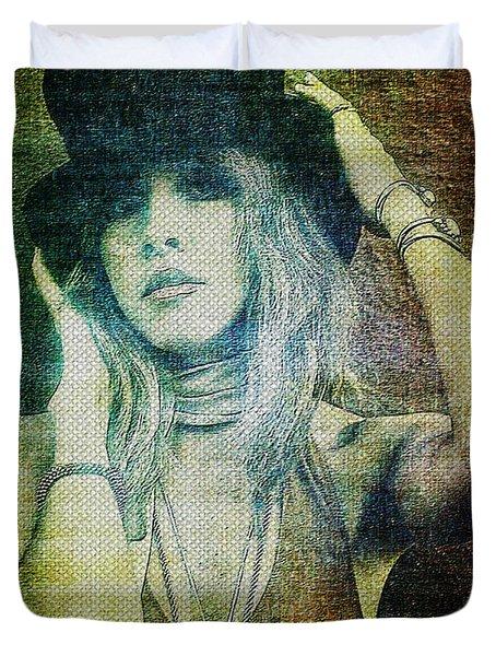 Stevie Nicks - Bohemian Duvet Cover