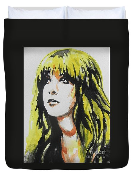 Stevie Nicks 01 Duvet Cover