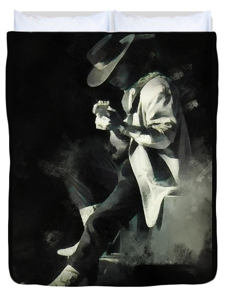 Stevie Ray Duvet Cover
