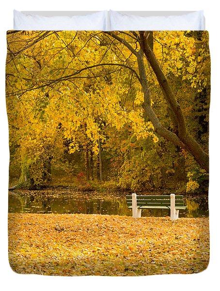 Stewart Park Ithaca Duvet Cover