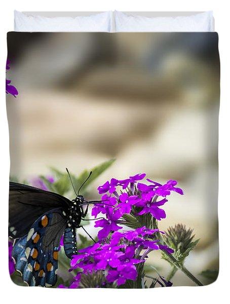 Still Beautiful Swallowtail Duvet Cover
