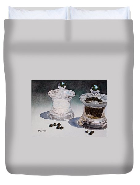 Still Life No. 4 Duvet Cover by Mike Robles