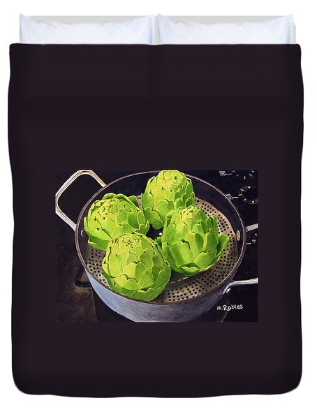 Still Life No. 6 Duvet Cover