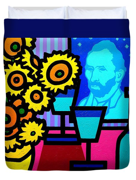 Still Life With Vincent Duvet Cover by John  Nolan