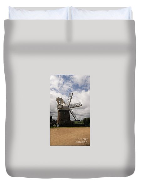 Duvet Cover featuring the photograph Still Turning In The Wind by Tracey Williams
