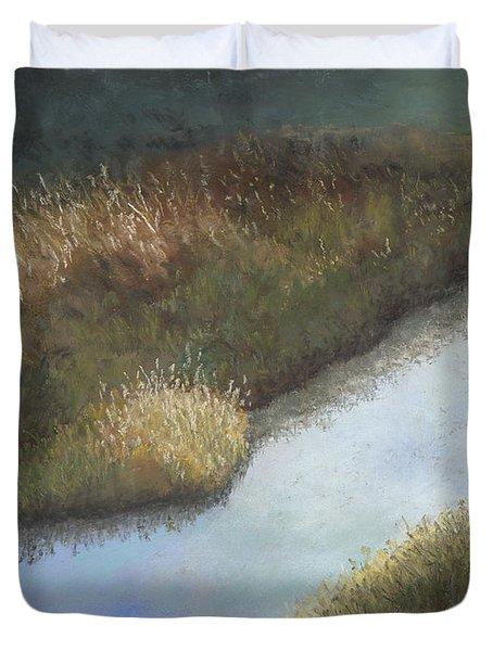 Still Water Duvet Cover by Ginny Neece