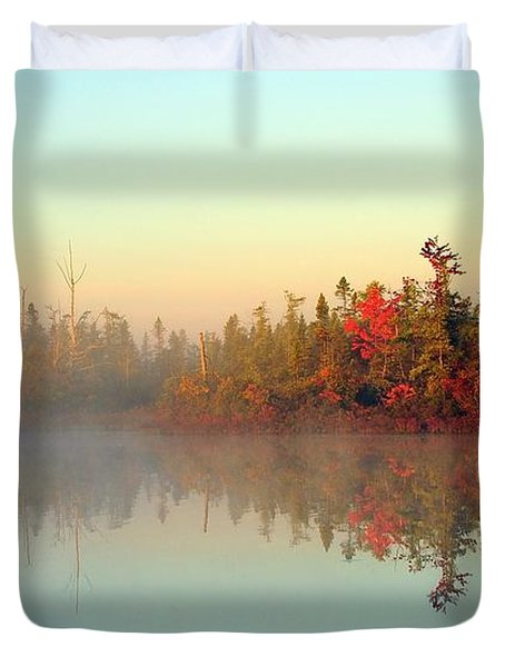 Still Water Marsh Duvet Cover by Terri Gostola