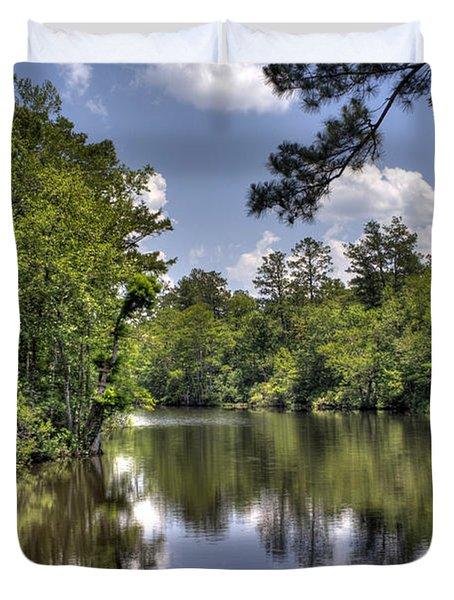 Still Waters Duvet Cover by David Troxel