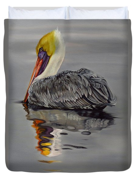 Still Waters Duvet Cover by Phyllis Beiser