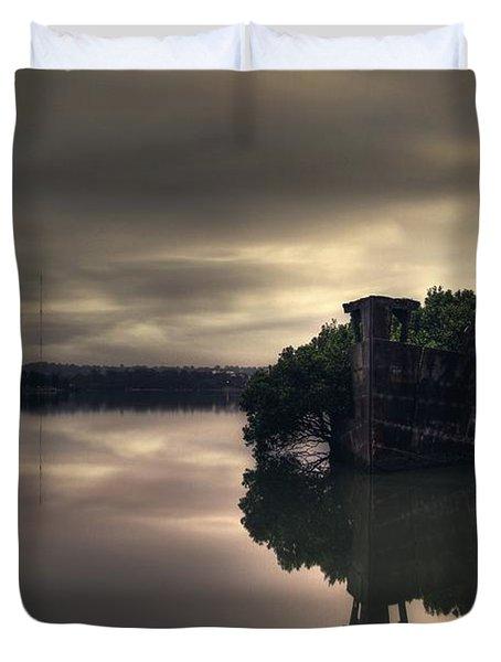 Stillness Speaks Duvet Cover