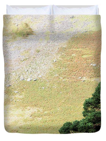 Stillness. Wicklow Mountains. Ireland Duvet Cover by Jenny Rainbow