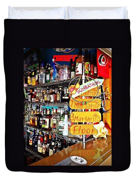 Stocked Bar At Jax Duvet Cover