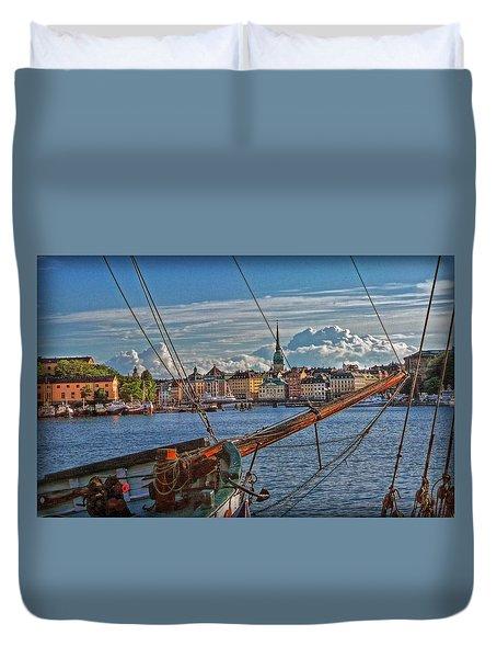 Stockholm Duvet Cover by Hanny Heim