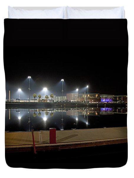 Stockton Stadium Duvet Cover